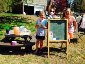 Selling Lemonade for the HCF