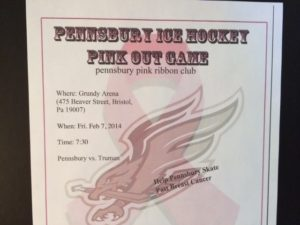 2014 Pensbury Pink Out Game